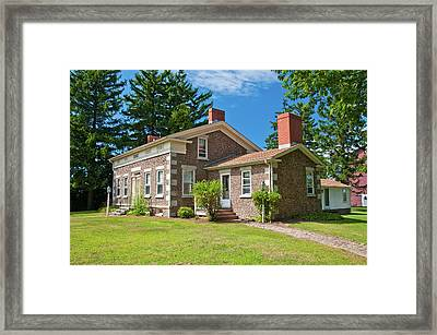 Framed Print featuring the photograph Babcock House Museum 2250 by Guy Whiteley