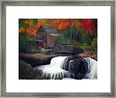 Babcock Mill Framed Print by Timothy Smith