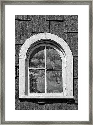 Framed Print featuring the photograph Babcock Window 2273 by Guy Whiteley
