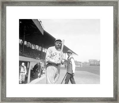 Babe Ruth, 1919 Framed Print by Everett