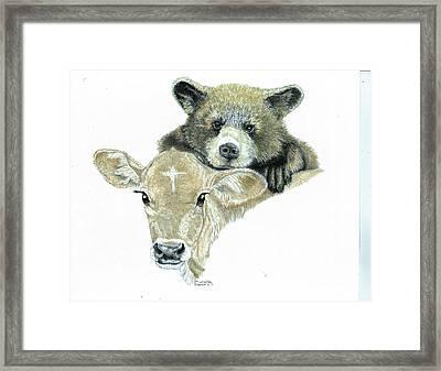 Babies Framed Print by Michelle Bachoroski