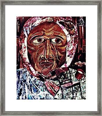 Babushka Framed Print by Sarah Loft