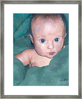Baby A Framed Print