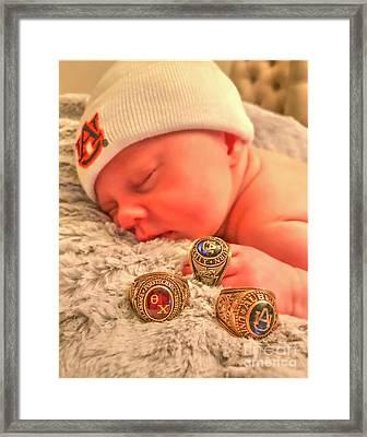 Baby Americana Framed Print