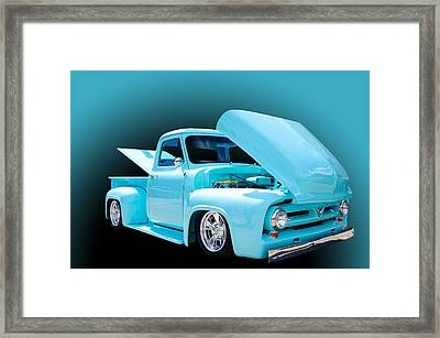 Baby Blue Framed Print by Jim  Hatch