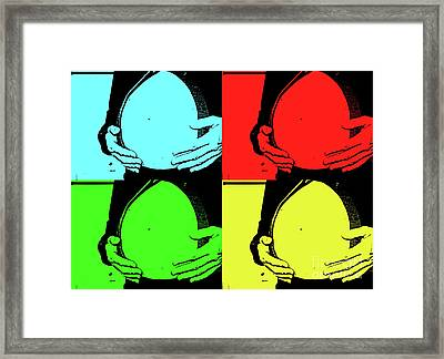 Framed Print featuring the photograph Baby Bump by Traci Cottingham