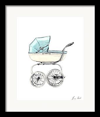 New Baby Art Framed Prints