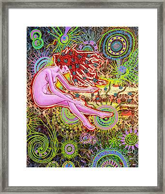 Baby, Did You Forget To Take Your Meds? Framed Print