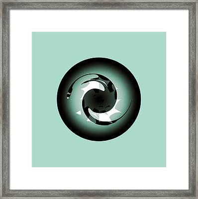 Baby Dragon Framed Print by Krzysztof Spieczonek