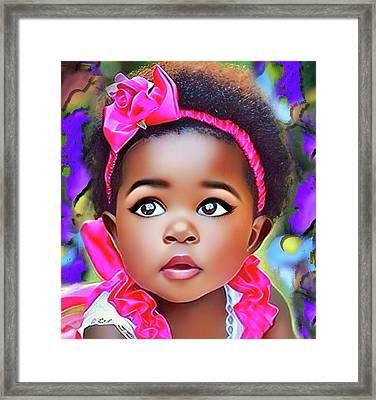 Baby Girl Framed Print