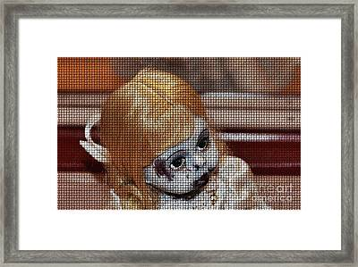 Baby Girl Two Framed Print