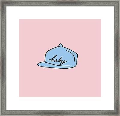 Baby Hat 2 Framed Print