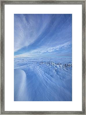 Framed Print featuring the photograph Baby It's Cold Outside by Phil Koch