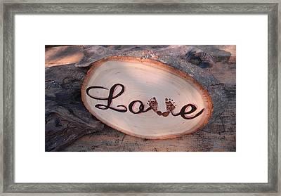 Baby Love Framed Print by Dakota Sage
