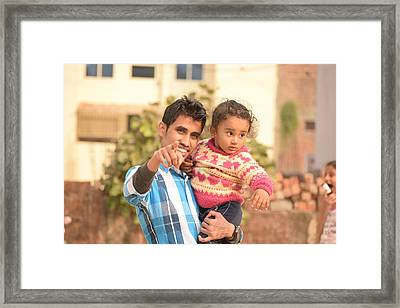 Baby Framed Print by Manish Mandal