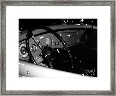 Framed Print featuring the photograph Baby You Can Drive My Car I by RC deWinter