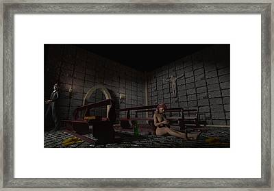 Babylon She Has Fallen Framed Print by Brainwave Pictures