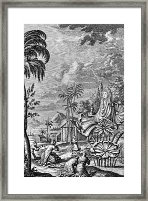 Babylon: Sun Worship Framed Print
