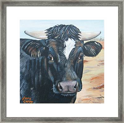 Baby's Baby Framed Print by Laura Carey