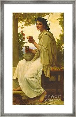 Bacchante 1894 Framed Print by Padre Art