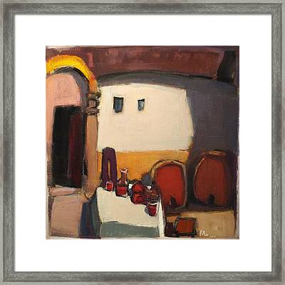 Bacchus House II, Nr. 11.39 Framed Print by Adolf Pen