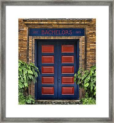 Bachelors Barge Club Framed Print