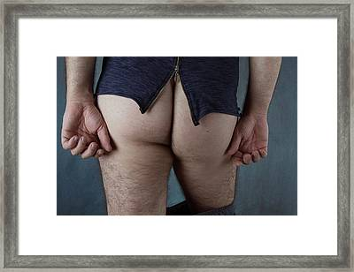 Back 2 Framed Print by Mark Ashkenazi