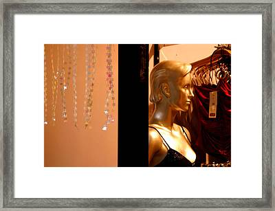 Back Against The Wall Framed Print by Jez C Self