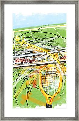 Back And Forth Framed Print by Nicole Slater