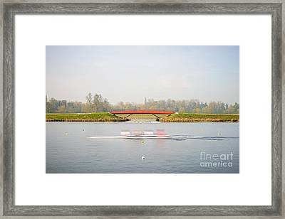 Back And Forth Framed Print by Richard Thomas