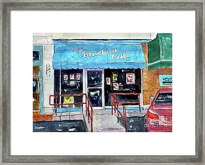 Back At The Bluebird Framed Print by Tim Ross