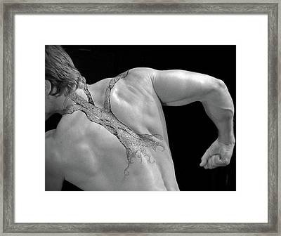 Back Bone Framed Print