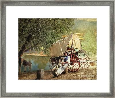 Back Country Camp Out Framed Print