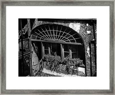 Back Door Framed Print