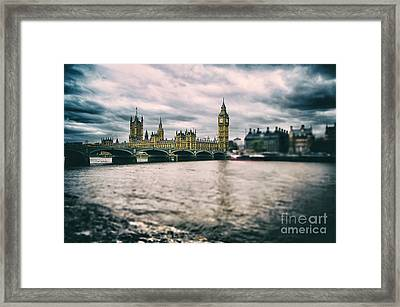 Back In London Framed Print by Alessandro Giorgi Art Photography