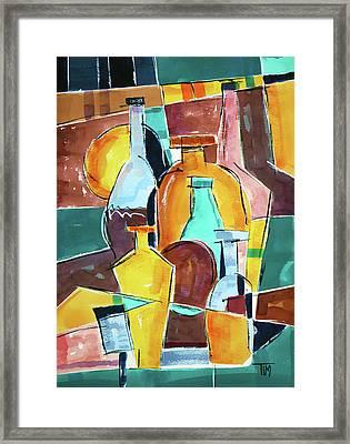 Back In Sedona Framed Print by Tim Ross