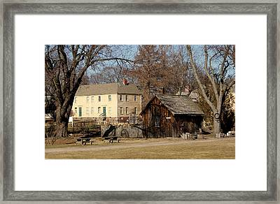 Back In The Day..... Framed Print by Lois Lepisto