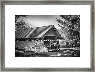 Back In The Day Framed Print by Nicki McManus