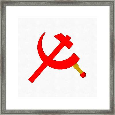 Back In The Ussr By Pierre Blanchard Framed Print
