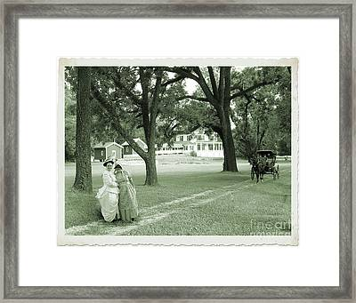 Back In Time At Hardman Farm Framed Print