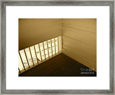 Back In Time Framed Print by Chuck Taylor
