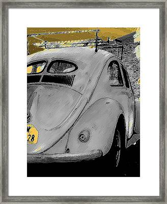 Back In Time Framed Print by Sean Presher-Hughes