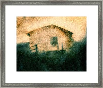 Back Of Ther Back Framed Print by Diana Ludwig