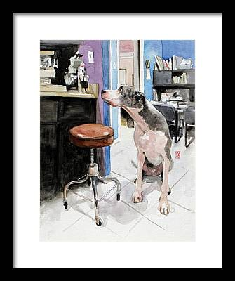 Norman Rockwell Paintings Framed Prints