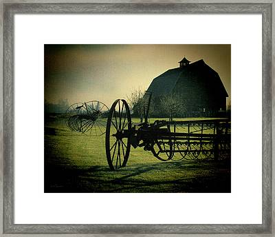 Back On The Farm Framed Print