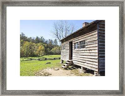 Back Porch Framed Print by Ricky Dean