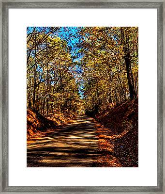 Back Road 3 Framed Print by Thomas Warner