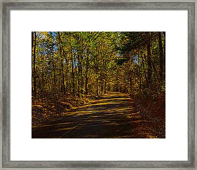 Back Road 7 Framed Print by Thomas Warner
