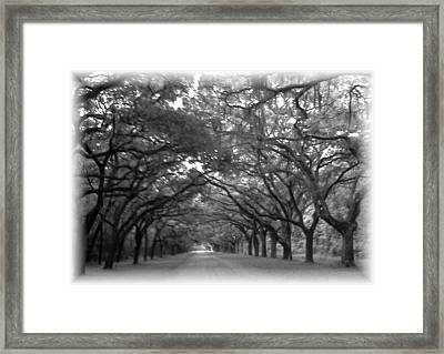 Back Roads Framed Print by Kim Zwick