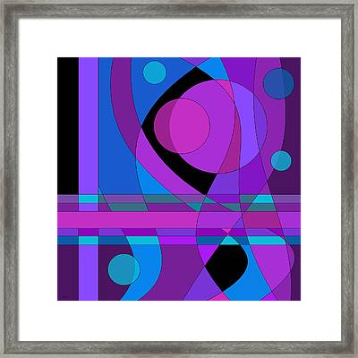 Back Room Blues Two Framed Print by Val Arie